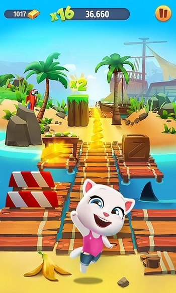 Talking Tom Gold Run Cracked APK