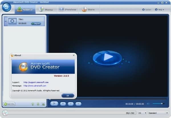 Aimersoft DVD Creator Cracked