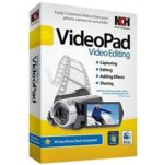 NCH VideoPad Video Editor Pro 10.26 Beta with Crack