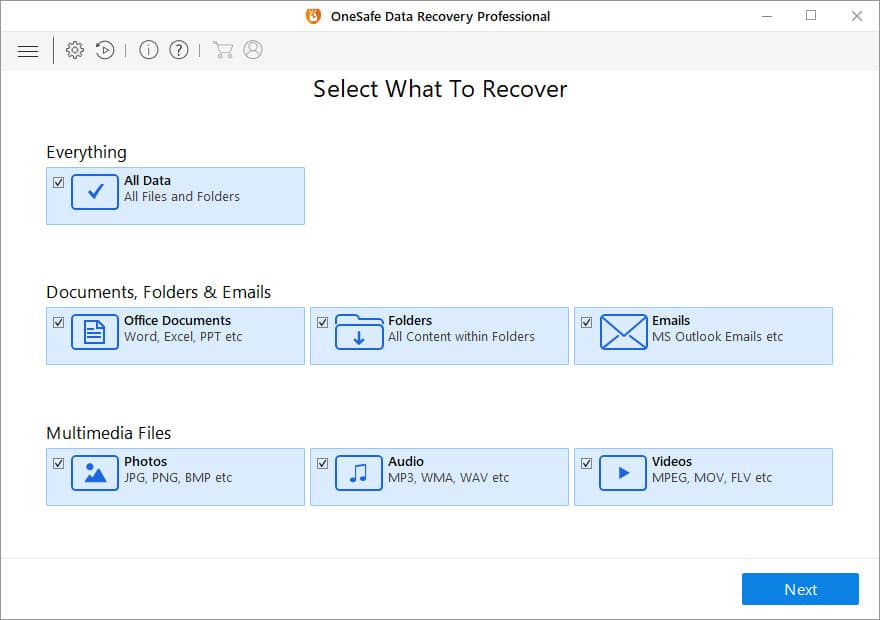 OneSafe Data Recovery Pro