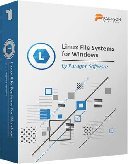 Paragon Linux File Systems for Windows Cover